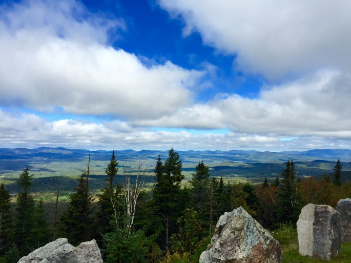 View of NY from the Whiteface Memorial Highway