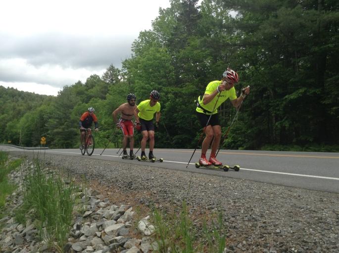 Rollerskiing DP (Pat Photo)