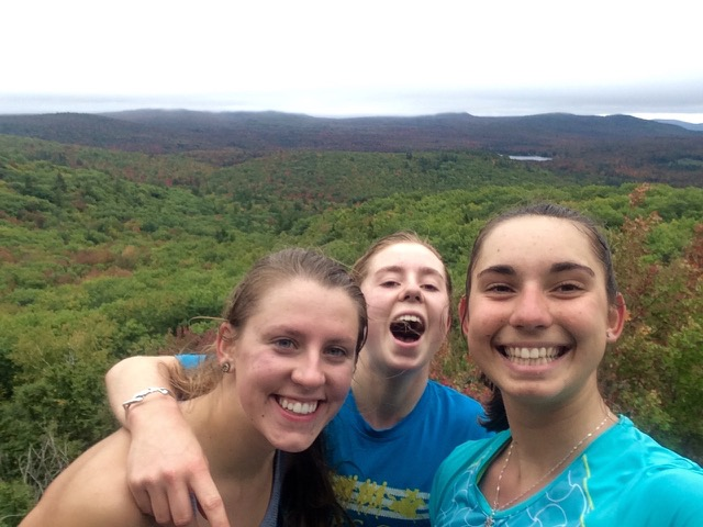 Our best view during Cube-Smart OD run with my teammates Abby and Leah. (OD run #3)