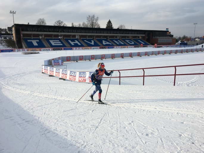 Checking out the courses before the World Cup chaos begins! (photo from Jason Cork)